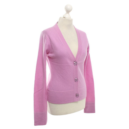 FTC Cashmere Cardigan in rosa