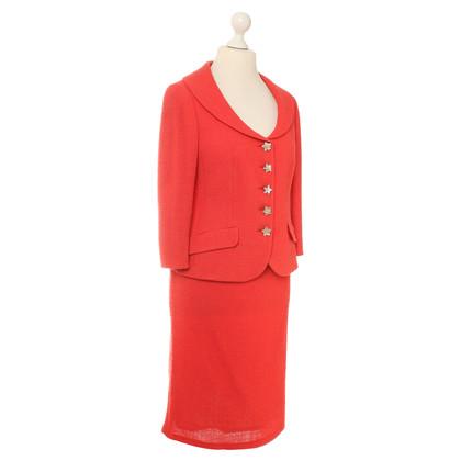 Rena Lange Costume in rosso chiaro