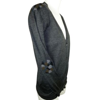 Prada Cardigan in maglia fine