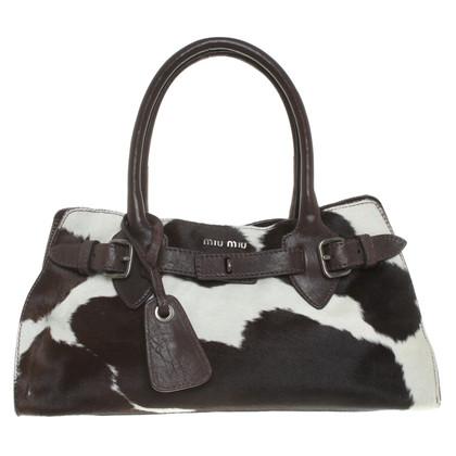 Miu Miu Handbag with cowhide trim
