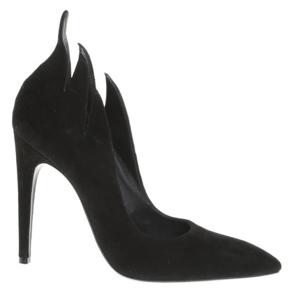 Bottega Veneta Suede pumps in nero