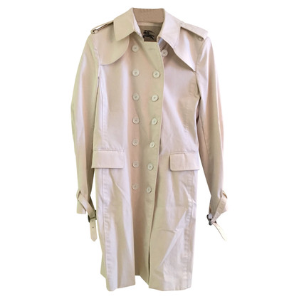 Burberry Weißer Trenchcoat