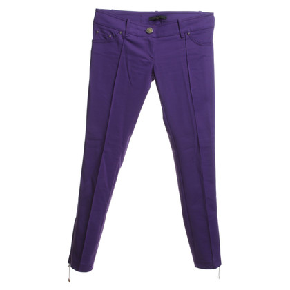 Elisabetta Franchi trousers in purple