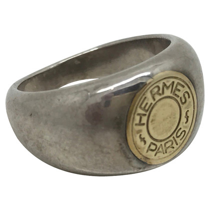 Hermès Hermes ring in silver and gold