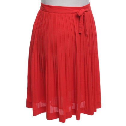 Comptoir des Cotonniers Folding skirt in red