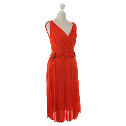Gucci Pleated dress in red