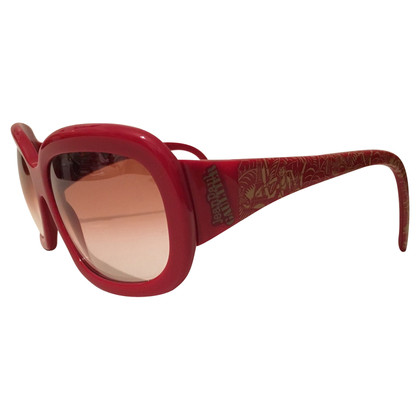 Jean Paul Gaultier occhiali da sole rossi