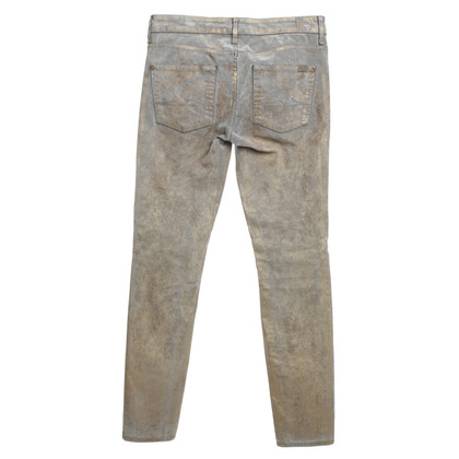 7 For All Mankind Pants with metallic finish