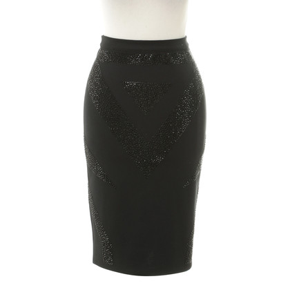 Philipp Plein Pencil skirt with Rhinestones