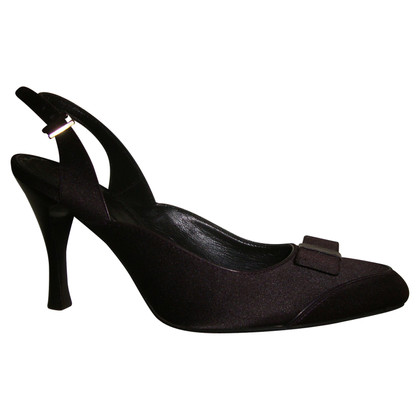 Hugo Boss Slingbacks in purple