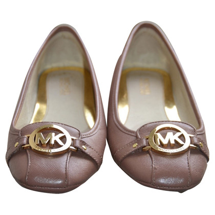 Michael Kors Leather Ballerina's