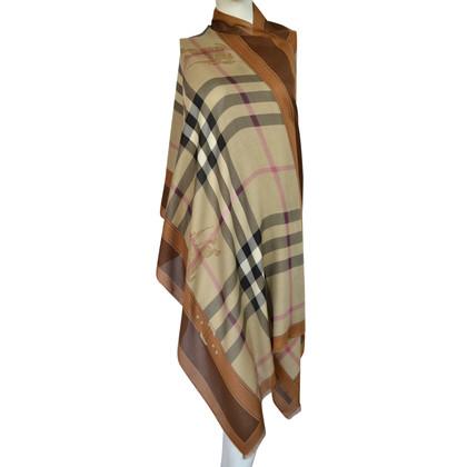 Burberry XXL sjaal met cashmere
