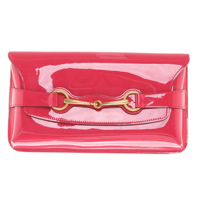 Gucci clutch with bridle