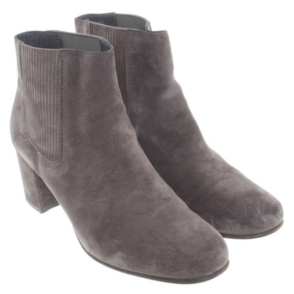 Pedro Garcia Suede Ankle Boots in grey