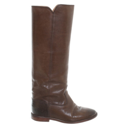 Isabel Marant Etoile Boot in brown leather