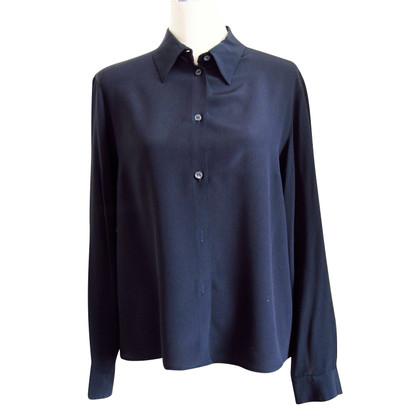 Michael Kors Zwarte zijden blouse