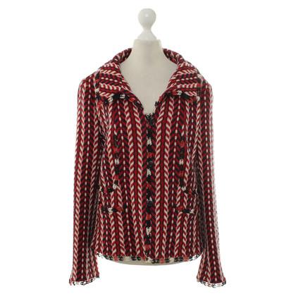 Chanel Blazer with Web pattern