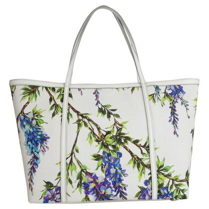 Dolce & Gabbana Große Handtasche mit Blumen