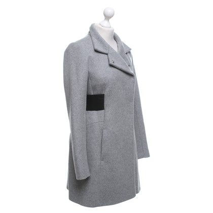 Max Mara Coat in mottled light gray