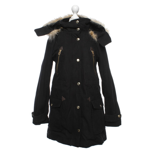 7f2061b4797c Juicy Couture Parka in black - Second Hand Juicy Couture Parka in ...