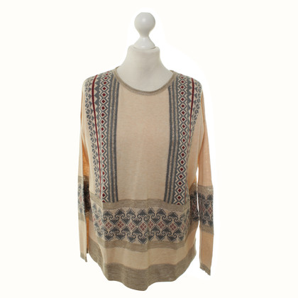 Hoss Intropia Knit sweater with decorative pattern