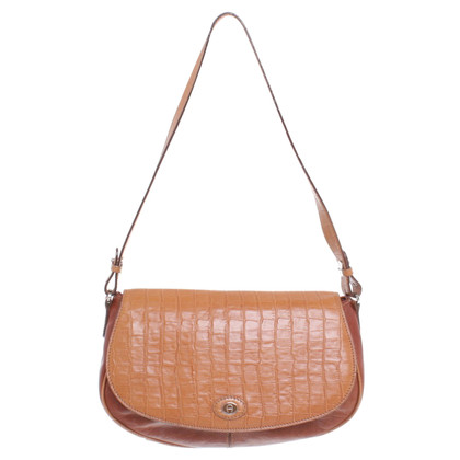 Aigner Shoulder bag with reptile embossing