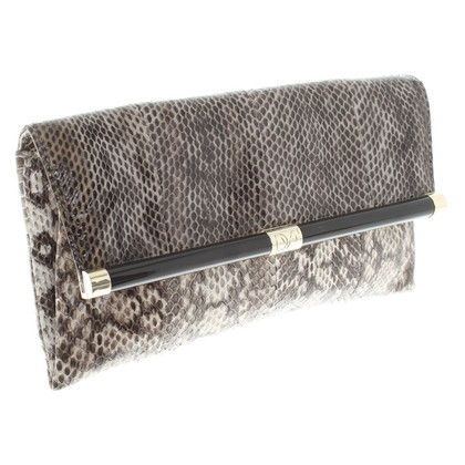 Diane von Furstenberg clutch in brown