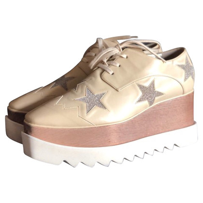 Stella McCartney Lace-up shoes with platform sole