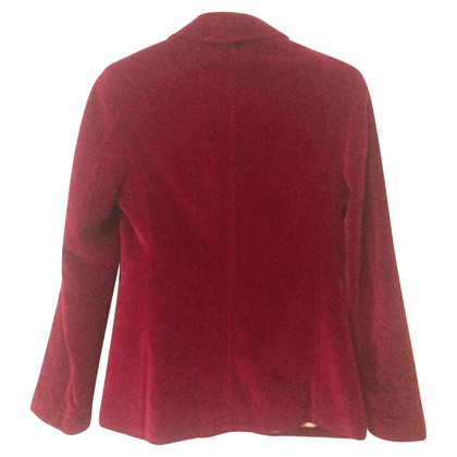 Dolce & Gabbana Velvet blazer in red