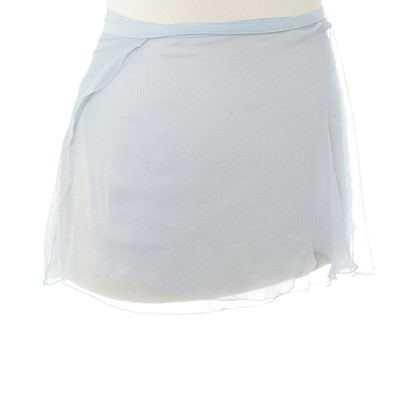 La Perla Silk wrap skirt