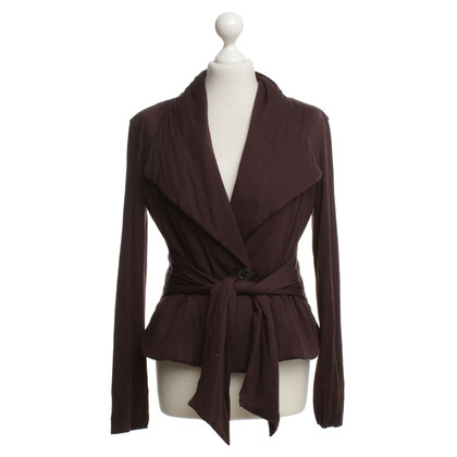Marc Cain Blazer in dark violet