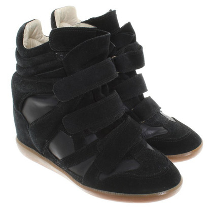 Isabel Marant Sneaker wedges in black