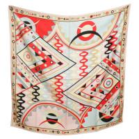 Emilio Pucci Colorful silk scarf