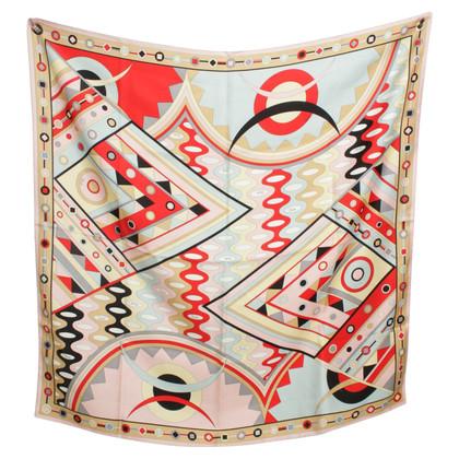 Emilio Pucci sciarpa di seta colorata