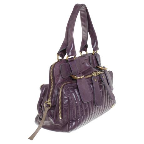 Rabatt Angebot Chloé Lila Lederhandtasche Violett Billige Sammlungen 100% Original Abstand Rabatt hjxTqhP23g