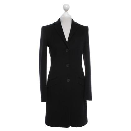 Windsor Cappotto in lana in nero