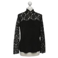 Sandro Blouse with lace