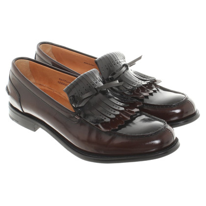 Church's Mocassin en marron / noir