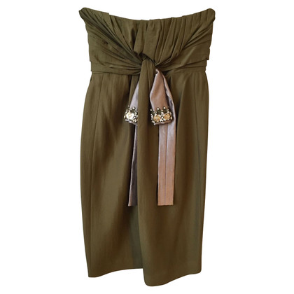 Chloé Bandeau dress in green