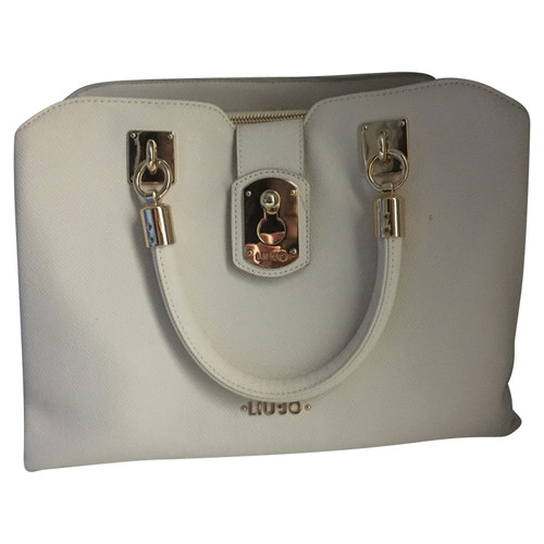 Liu Jo Shopper in White - Second Hand Liu Jo Shopper in White buy ... 3640d2a25b6