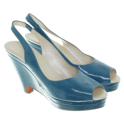 Jil Sander Wedges in blue