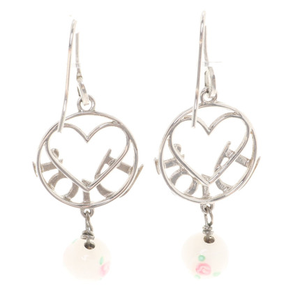 Christian Dior Earrings with logo application