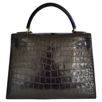 """Hermès """"Kelly Bag 28 Crocodylus Porosus"""""""