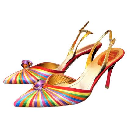 René Caovilla Sandals in multicolor
