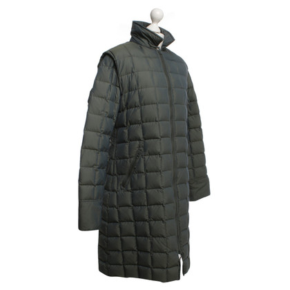 Armani cappotto Down in verde
