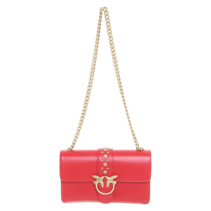 Pinko Shoulder bag made of leather