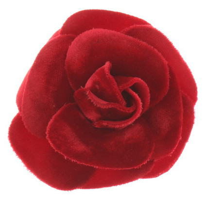 Chanel Brooch of velvet