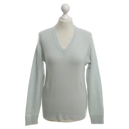 Loro Piana Kasjmiersweaters in lichtgroen