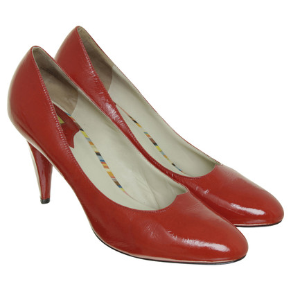 Paul Smith Pumps aus Lackleder