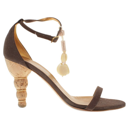 Salvatore Ferragamo Sandals in brown